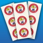 Henry the Hand 1″ Stickers (100)