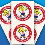 Henry the Hand 2.5″ Stickers (1000)