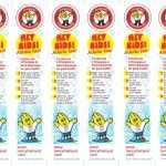 Henry the Hand Bookmarks (30)
