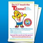 Do Not Touch the T Zone Poster