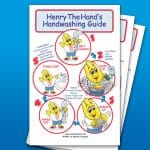 Hand Washing Instruction Poster