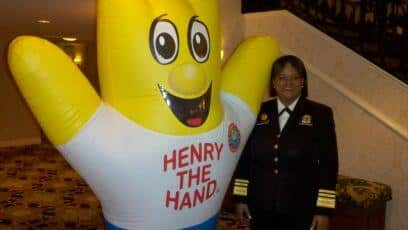 Henry with Surgeon General
