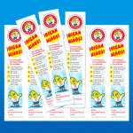Henry the Hand Bookmarks in SPANISH **COMING SOON**